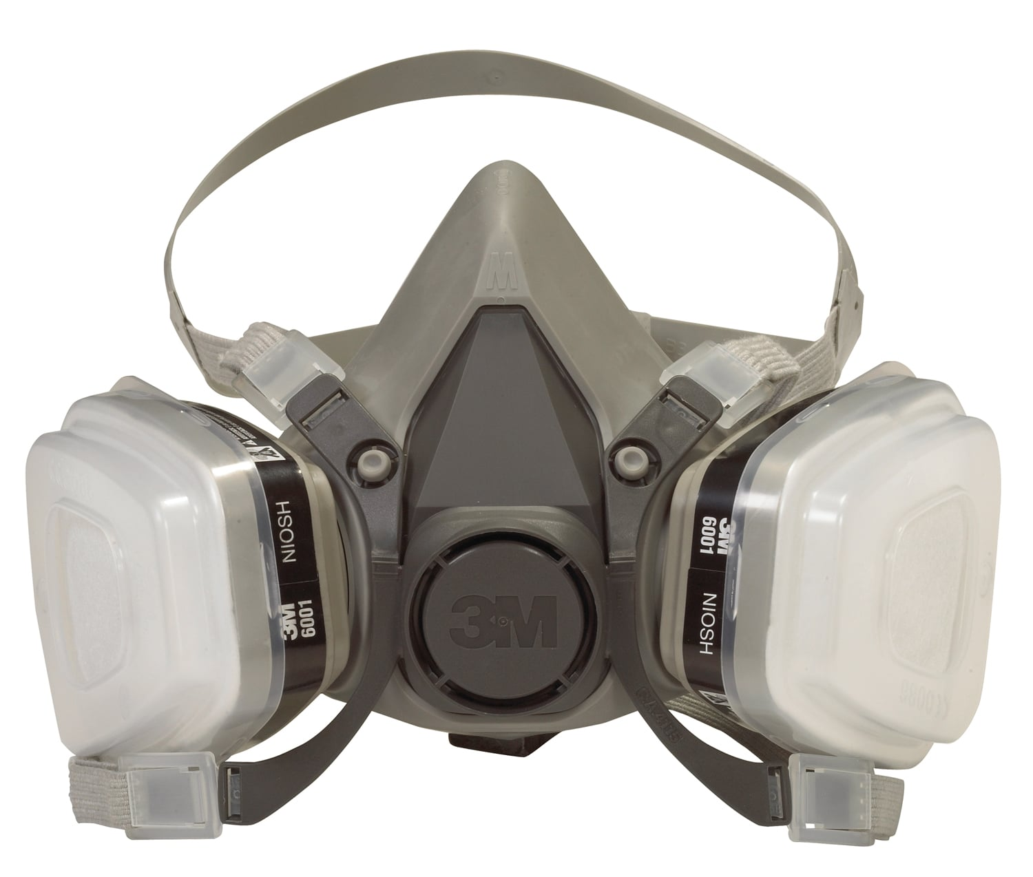 3M 27531037 NA Dual Cartridge Paint Spray Respirator 6211PA1 A