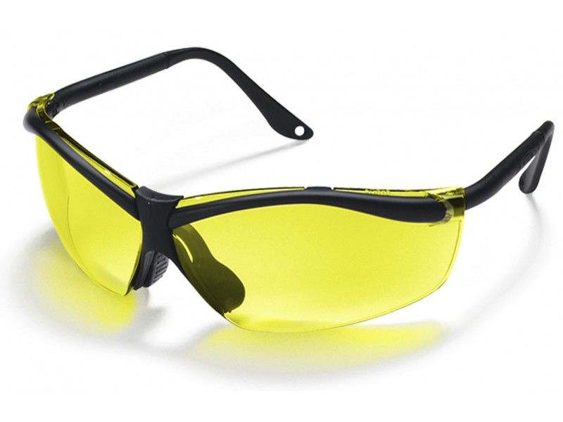 3M 27531276 Yellow Lens X Factor 4 Yellow Lens Safety Glasses 90966 80025T