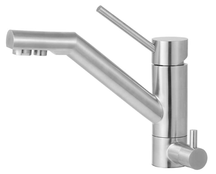 ALFI Brand AB2040 Brushed Nickel Single Handle Kitchen Faucet with Built In Water Dispenser AB2040