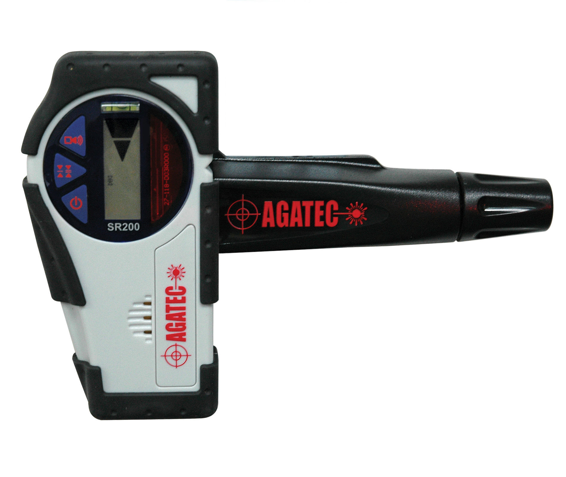 Agatec 1 08931 NA Rotary Laser Level Detector with Clamp SR200