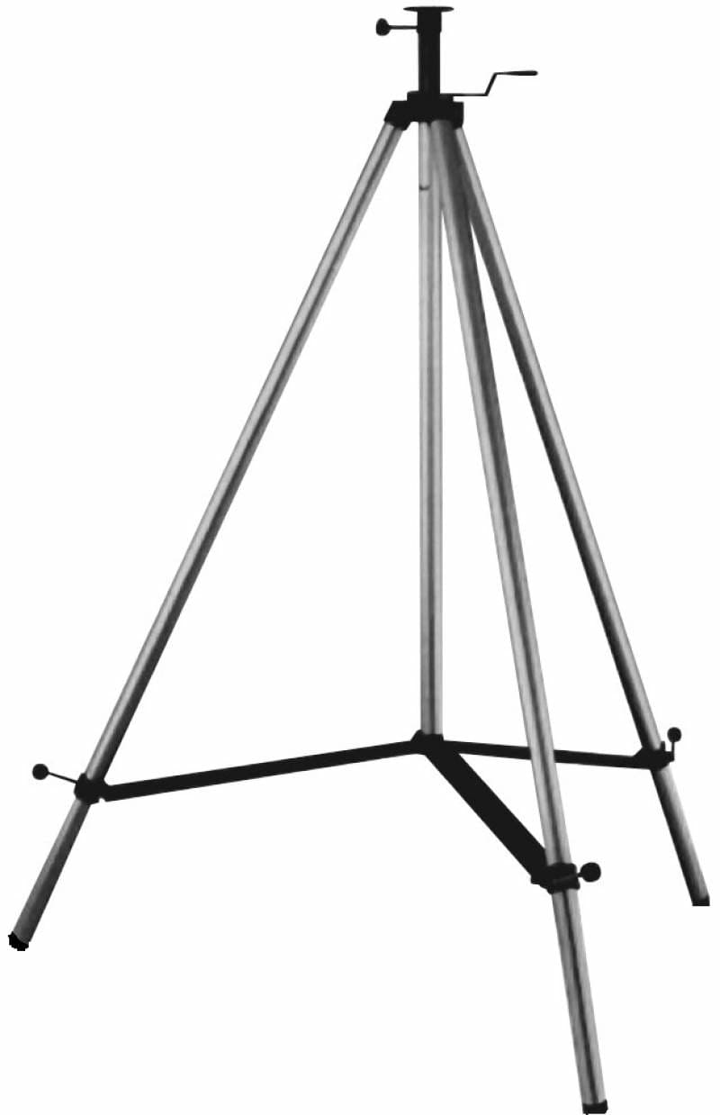Agatec 1 08813 NA 135 FT Maxi Machine Control Elevating Tripod with 18 Elevating Column 58x11 1 08813