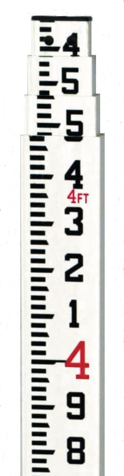 Agatec 1 08884 NA 16 Foot Fiberglass Grade Rod Tenths 1 08884