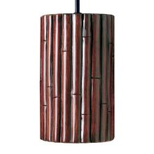 A19 Bamboo Light Pendant from the Nature Collection