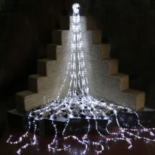 Christmas at Winterland LED-WATERFALL-BL