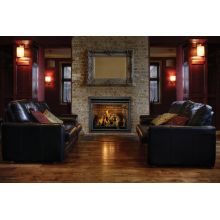 "Majestic 33"" Rear Direct Vent Fireplace - Wood Burning Stoves"