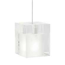 Tech Lighting Cube Pendant-Frost