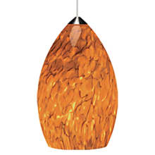 Tech Lighting Firefrit Pendant-Tahoe Pine Amber