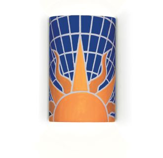 A19 Solar Wall Sconce from the Mosaic Collection