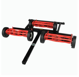 Gang-reel mower