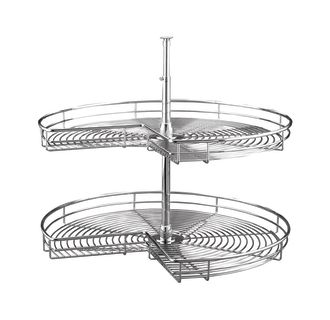 rev-a-shelf kidney shaped lazy susan