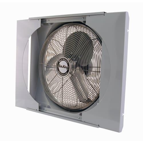 how to mount an exhaust fan outside a window