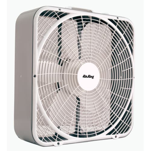 Box Fan Air King : Air king quot cfm speed commercial grade box