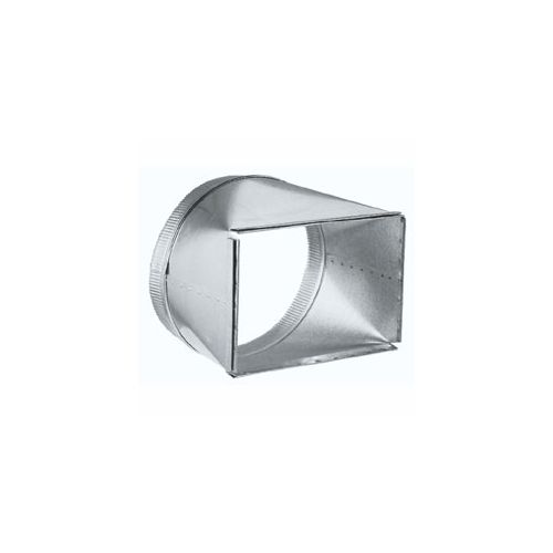 Broan t galvanized steel quot to round duct
