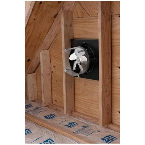 Broan 345go Black Gable Mounted Attic Ventilation Fan With