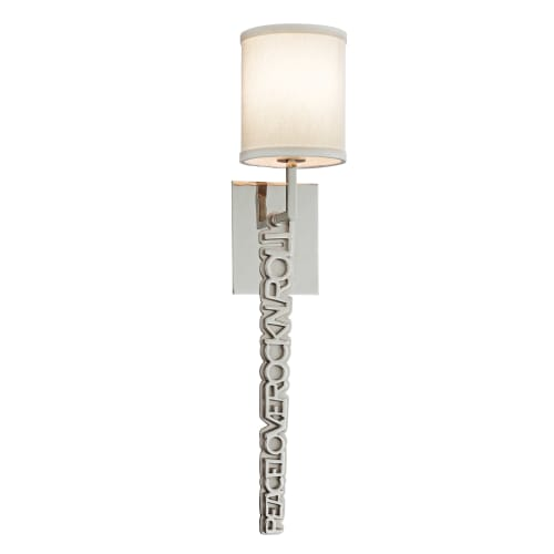 Corbett Lighting 151-11 1 Light Peace Love and Rock and Roll Wall Sconce from th