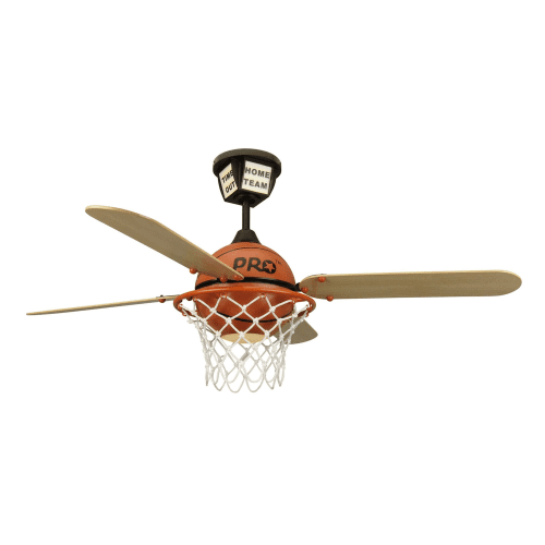 Craftmade ps52bb prostar basketball ceiling fan with integrated picture 1 of 3 aloadofball Gallery
