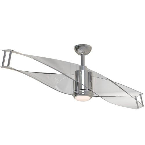 Craftmade ilu56pln2 illusion 56 2 blade ceiling fan blades craftmade ilu56pln2 illusion 56 2 blade ceiling fan blades remote and led l aloadofball Images