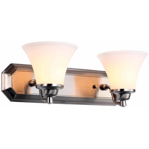 DVI Lighting DVP0822SN-OP Valletta Two-Light Bathroom Fixture | eBay