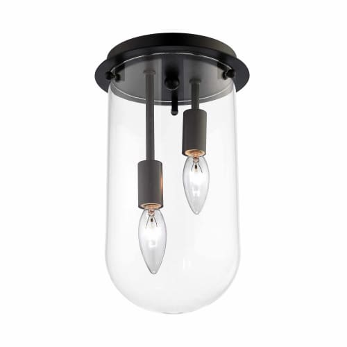 Elk Lighting Andalusia: Elk Lighting 14371/2 2-Light Flush Mount Ceiling Fixture
