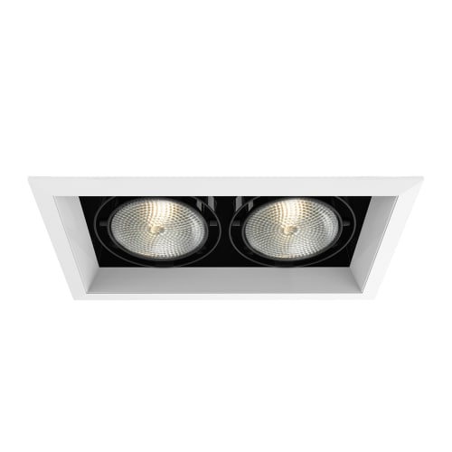 Eurofase lighting te132 multiple recessed medium e26 2 light recessed trim for