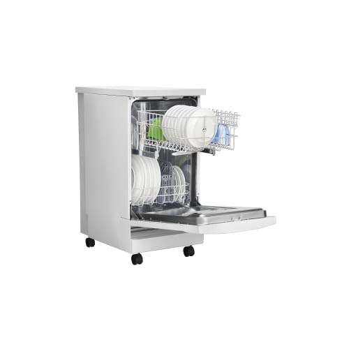 Frigidaire Ffpd1821m White 18 Portable Dishwasher With Stainless Steel Ebay
