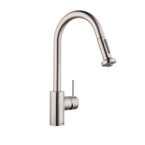 Hansgrohe 6801 Talis S Variarc Spray Kitchen Faucet Single Hole W Swivel Spout Ebay