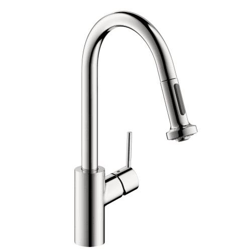 Hansgrohe 14877 Chrome Talis S Kitchen Faucet HighArc Pull-Out with MagFit Magne