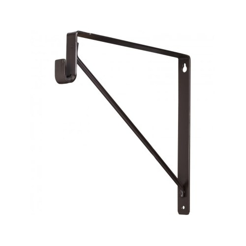 Hardware Resources 1530 Closet Rod And Shelf Support Bracket For Oval Closet  Rod