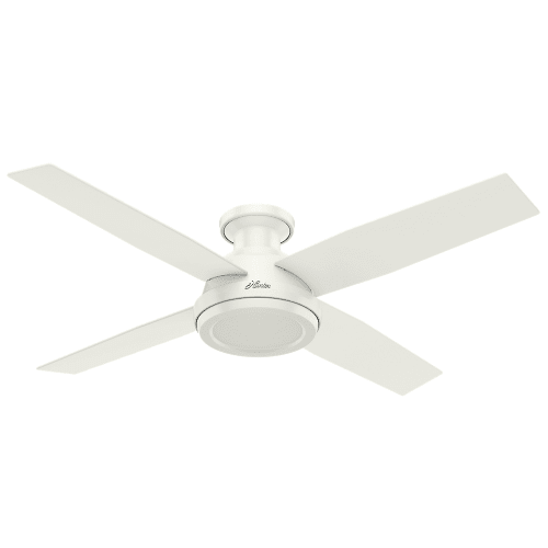 """Hunter 52"""" Ceiling Fan 4 Reversible Blades and"""