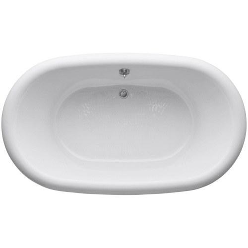 Kohler K 700 0 72 Free Standing Bath Tub For Two Person Bathing W Cente
