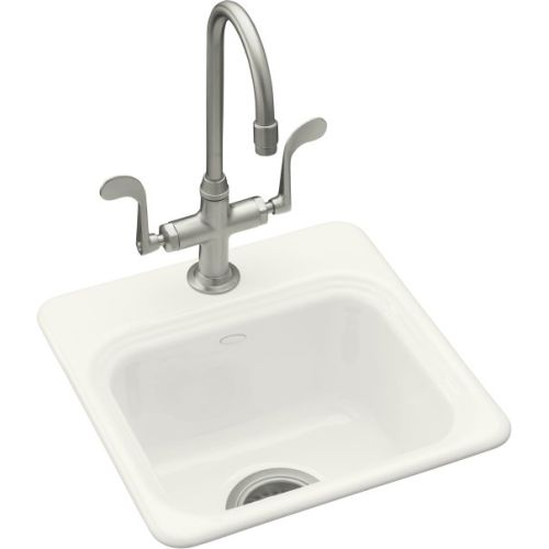 Kohler k 6579 2 0 cast iron bar sink from the northland series ebay - Cast iron sink weight ...