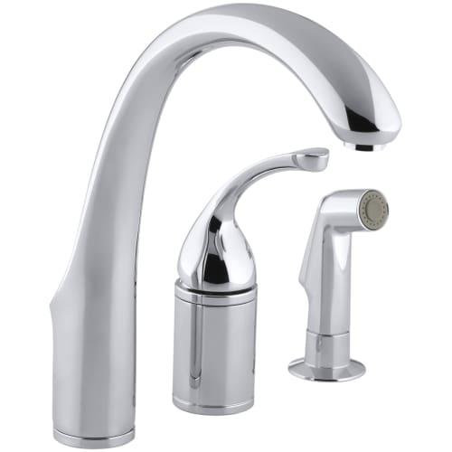 Kohler k 10430 forte 3 hole remote valve kitchen sink - Kohler forte bathroom faucet repair ...