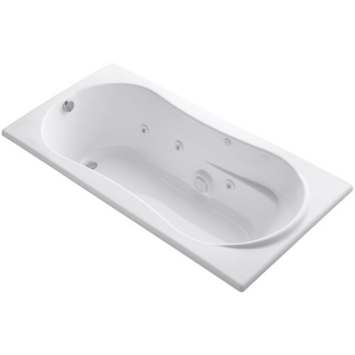 Kohler K 1157 0 Proflex 72 Quot Drop In Jetted Whirlpool Tub W