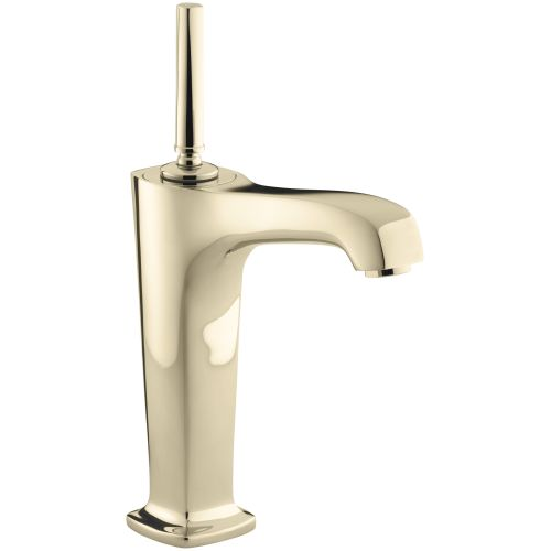 kohler k 16231 4 french gold margaux single hole bathroom