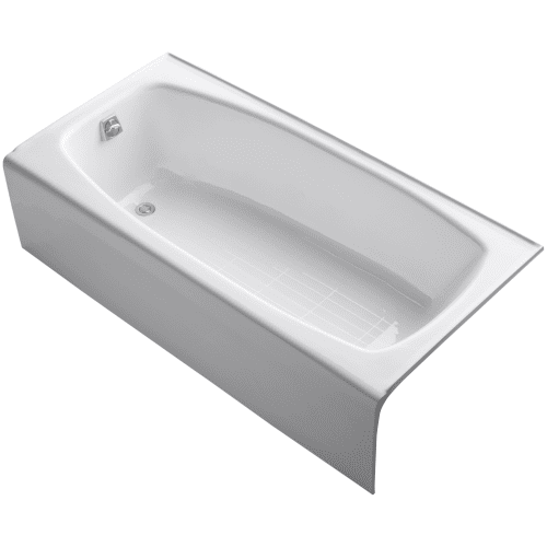 kohler k 515 dynametric collection 66 three wall alcove bath tub with