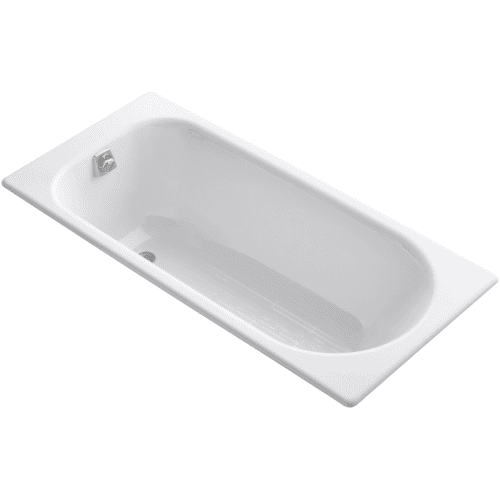 details about kohler k 941 0 60 drop in cast iron soaking bath tub w