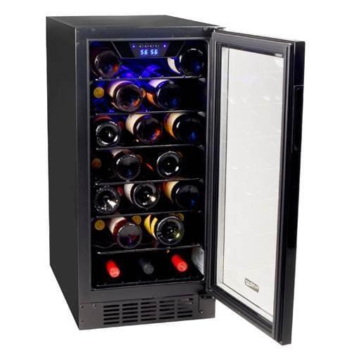koldfront bwrbl   wide  bottle built  wine cooler  slim design ebay
