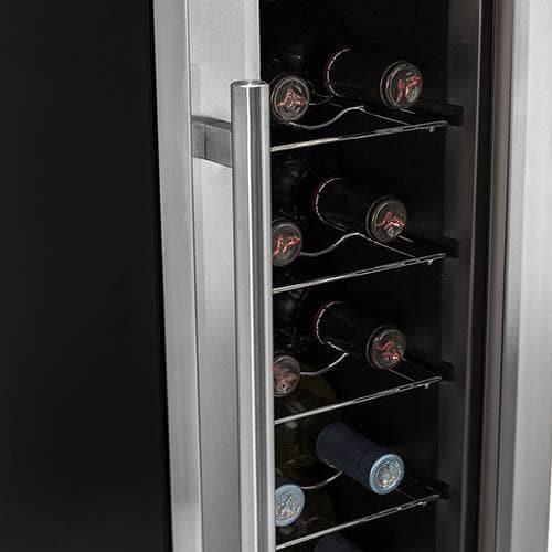 Koldfront Twr121ss 10 Wide 12 Bottle Wine Cooler W