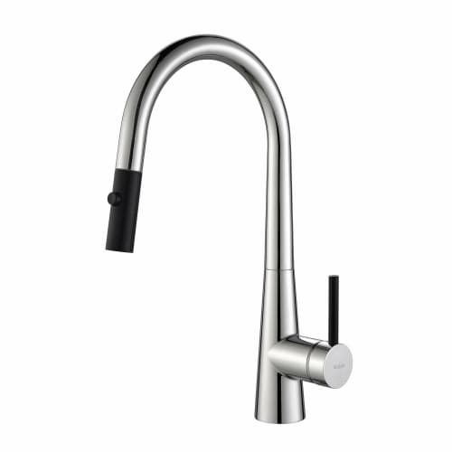 Kraus KPF 2720CH Crespo Single Lever Pull Down Kitchen Faucet ...