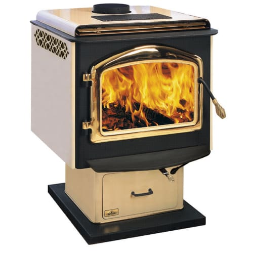 Napoleon 1100 EPA 1.7 Cubic Foot Wood Burning Pedestal Stove
