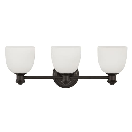 Park Harbor Phvl2133 Peebles 23 Wide 3 Light Bathroom Fixture Ebay