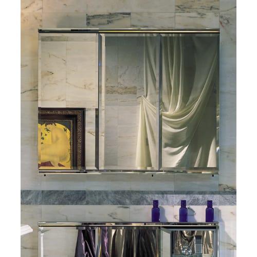 """Robern TFC4838E C Series 48"""" Triple Door Mirrored Medicine Cabinet"""
