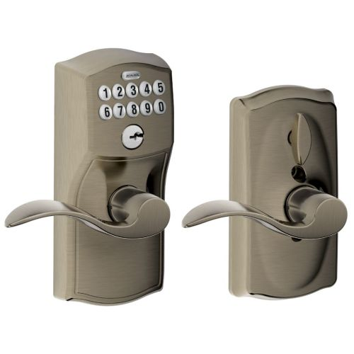 Schlage Fe595 Cam Acc Camelot Keypad Entry With Flex Lock