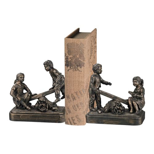 Sterling Industries 93-19374/S2 Teeter Totter Bookend - Set of Two
