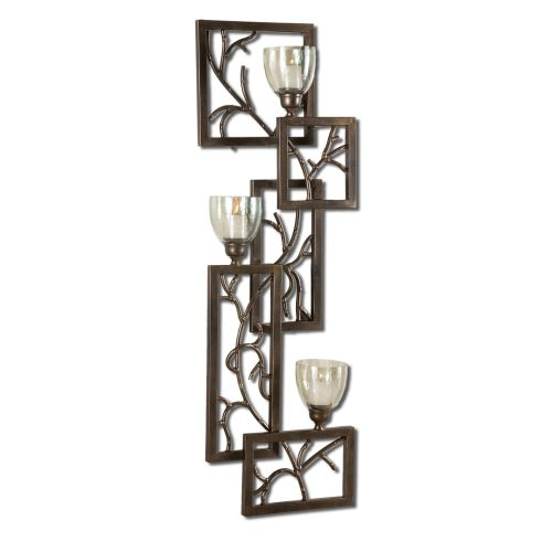 Uttermost 19736 Iron Branches, Wall Sconce Candle Holders