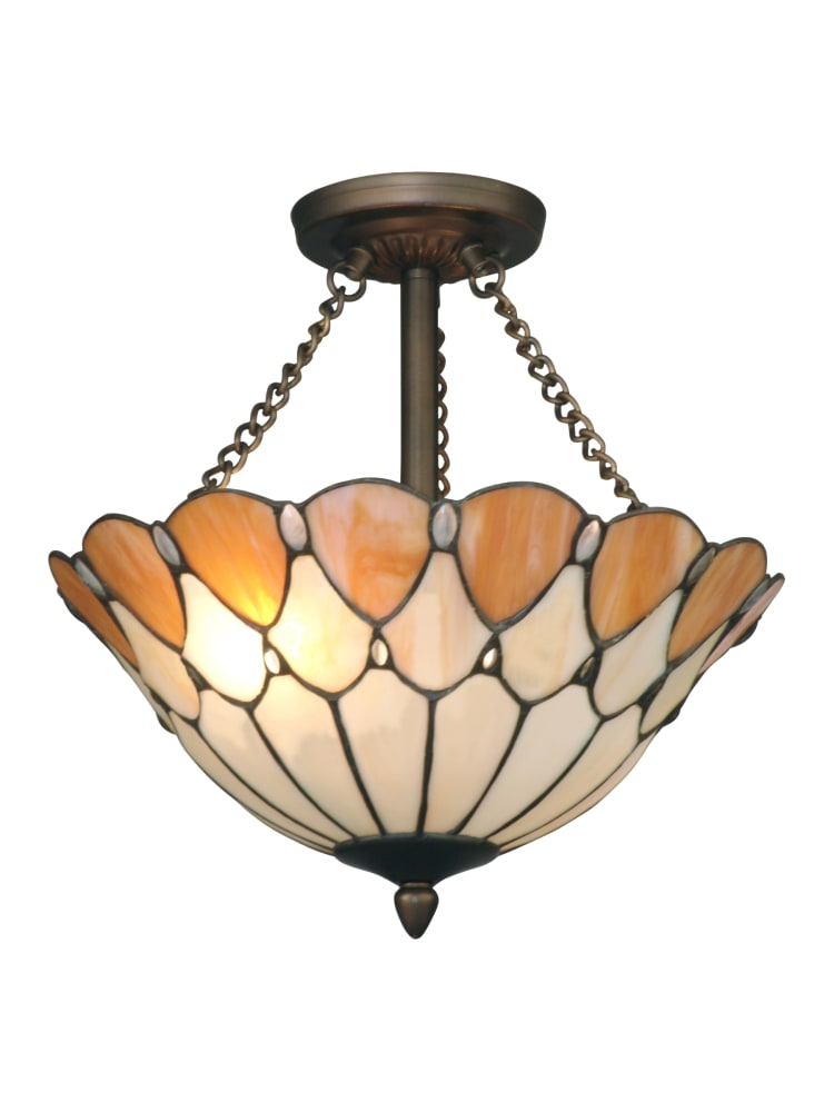 Dale Tiffany TH11202 Antique Bronze Ceiling Light