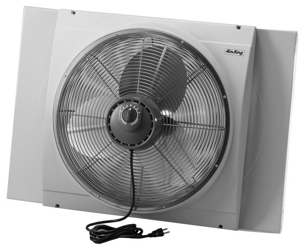 air king 9166 20 inch 3560 cfm whole house window fan with