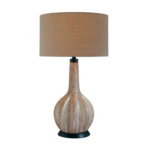 10165 gray country rustic style table lamp with 3 way switch fini. Black Bedroom Furniture Sets. Home Design Ideas