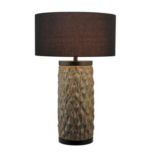 10178 algae country rustic style table lamp with 3 way switch fin. Black Bedroom Furniture Sets. Home Design Ideas