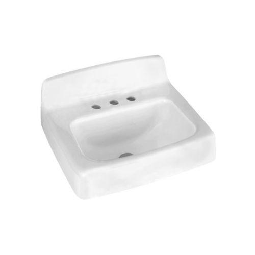 American Standard Ada Sinks : American Standard 4869.001 White Regalyn Wall Mounted Cast Iron ...